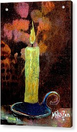 Inner Light Acrylic Print by Art By Miko