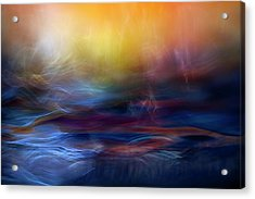 Inner Peace Acrylic Print by Willy Marthinussen