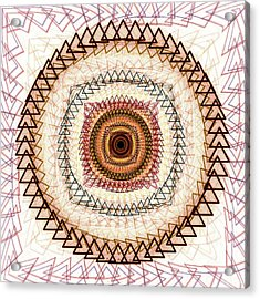 Inner Purpose Acrylic Print by Anastasiya Malakhova
