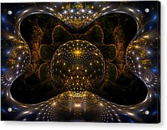 Inner Space Acrylic Print by Phil Clark