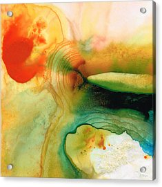 Inner Strength - Abstract Painting By Sharon Cummings Acrylic Print
