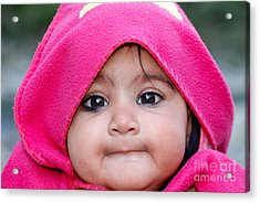 Acrylic Print featuring the photograph Innocence by Fotosas Photography