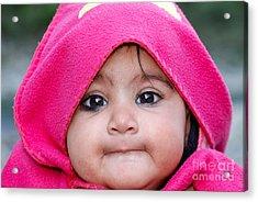 Innocence Acrylic Print by Fotosas Photography