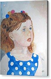 Innocence Acrylic Print by Sandy McIntire