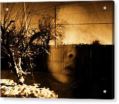 Acrylic Print featuring the photograph Innocents Reflection  by Jessica Shelton