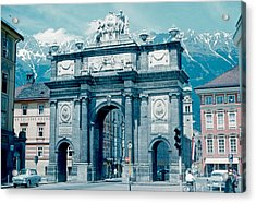 Innsbruck Austria 1962 Acrylic Print by Cumberland Warden