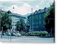Innsbruck Austria 3 1962 Acrylic Print by Cumberland Warden