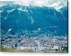 Innsbruck Austria 6 1962 Acrylic Print by Cumberland Warden