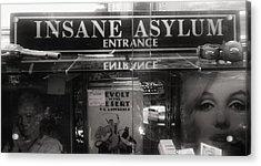 Insane Asylum Acrylic Print by Sharon Costa