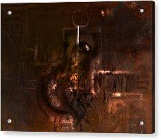 Insanity Acrylic Print by Kim Gauge