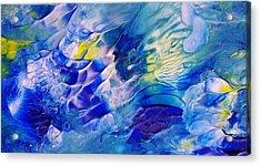 Inside A Wave Acrylic Print