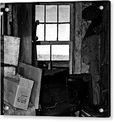 Inside Abandonment 2 Acrylic Print by Tara Lynn