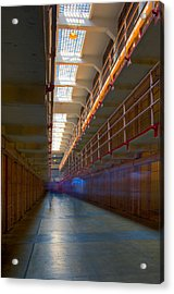 Inside Alcatraz Acrylic Print by James O Thompson