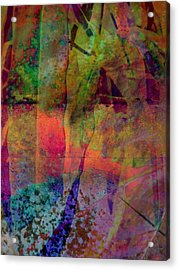 Inside Autumn Acrylic Print by Shirley Sirois