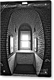 Acrylic Print featuring the photograph Inside Barney by Mark Miller