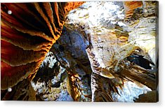 Inside Earth I Acrylic Print by Sandro Rossi