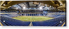 Inside Ford Field Acrylic Print