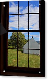 Acrylic Print featuring the photograph Inside Looking Out by Debra Kaye McKrill