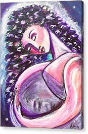 Acrylic Print featuring the painting Inside Me by Anya Heller