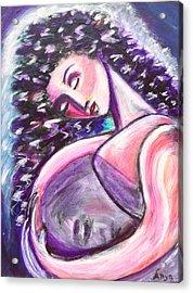 Inside Me Acrylic Print by Anya Heller