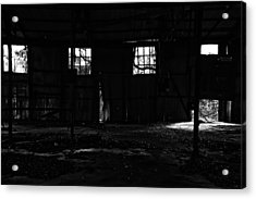 Inside Old Warehouse Acrylic Print
