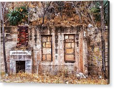 Acrylic Print featuring the photograph Inside-out Living by Beverly Parks