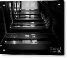 Acrylic Print featuring the photograph Inside Outside by Lin Haring