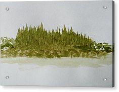 Inside Passage Islet Acrylic Print