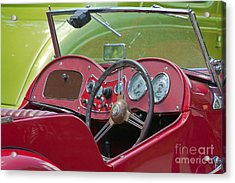 Red Mg-td Convertible  Acrylic Print