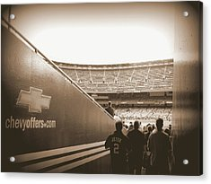 Acrylic Print featuring the photograph Inside The Cathedral Of Baseball by Aurelio Zucco