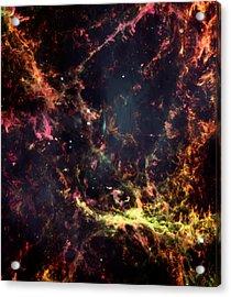 Inside The Crab Nebula  Acrylic Print by Jennifer Rondinelli Reilly - Fine Art Photography