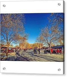 Inside The Forbidden City In Beijing Acrylic Print