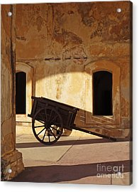 Inside The Fortress Acrylic Print by Deborah Smith