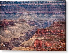 Inside The Grand Canyon  Acrylic Print by James BO  Insogna