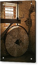 Inside The Gristmill Acrylic Print