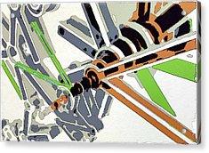 Inside The Mechanism Acrylic Print