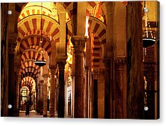 Inside The Mezquita Acrylic Print