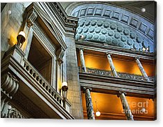 Inside The Natural History Museum  Acrylic Print by John S