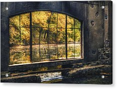 Inside The Old Spring House Acrylic Print