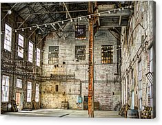 Inside The Old Sugar Mill Acrylic Print by Diego Re