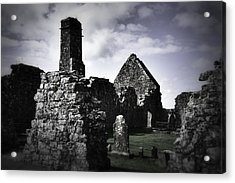 Inside The Walls At Clare Abbey II Acrylic Print