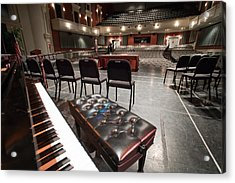 Acrylic Print featuring the photograph Inside Theater by Alex Grichenko
