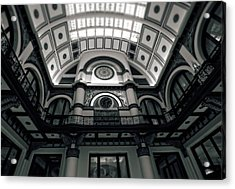 Inside Union Station Acrylic Print by Dan Sproul