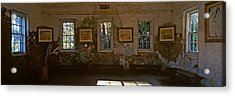 Inside View Of Slave Quarter, Middleton Acrylic Print by Panoramic Images
