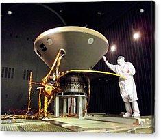 Insight Mars Lander Testing Acrylic Print