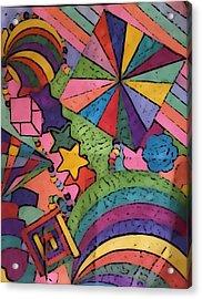 Insomnia 2 Acrylic Print by Sarah E Kohara