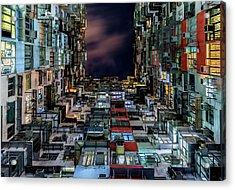 Insomnia Acrylic Print by Andreas Agazzi
