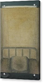 Insomnia - Lying On The Back Acrylic Print by Oni Kerrtu