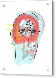 Insomnia Acrylic Print by Paul Brown