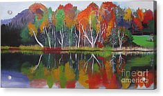 Inspiration Autumn Evening Acrylic Print